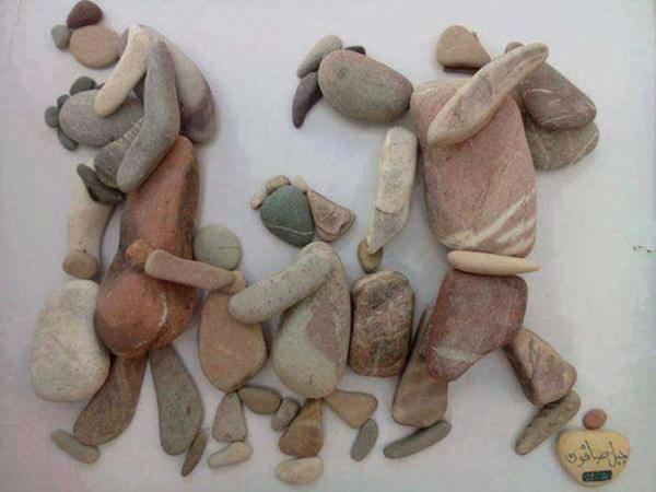 Vluchtelingen door de ogen van de Syrische kunstenaar Nizar Ali Badr