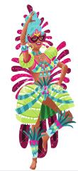 Carnavalvrouw